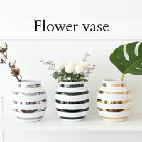 stripe flower vase[당일발송]