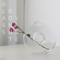 Glass Donut Vase[당일발송]